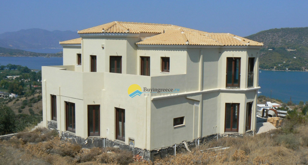 Luxury Villa in Galatas sea and mountain view - Buyingreece Real Estate (ed)