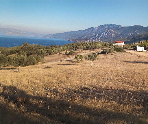 Plots of land with seaview near airport in Greece - Plots near sea - Land near beach - Buyingreece Real Estate - Properties in Greece