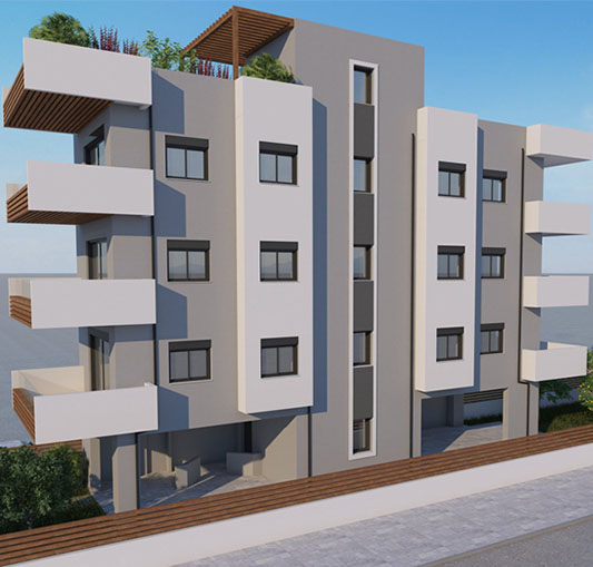 real estate project greece glyfada