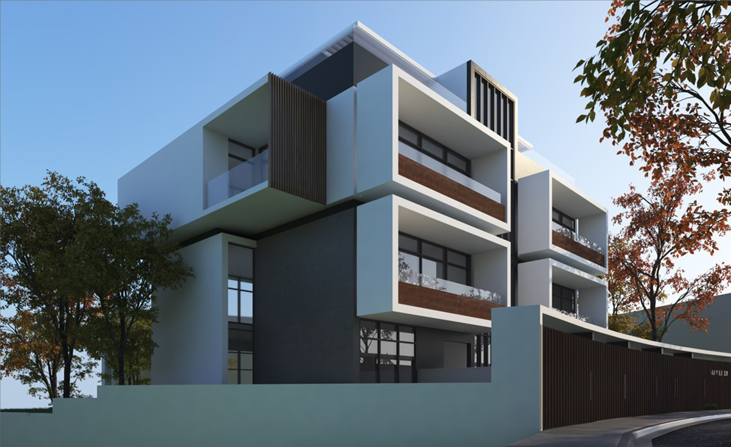 Luxury maisonettes in Alimos